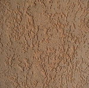 Стена покрытая силикатной штукатуркой