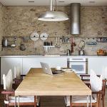 Стены в кухне