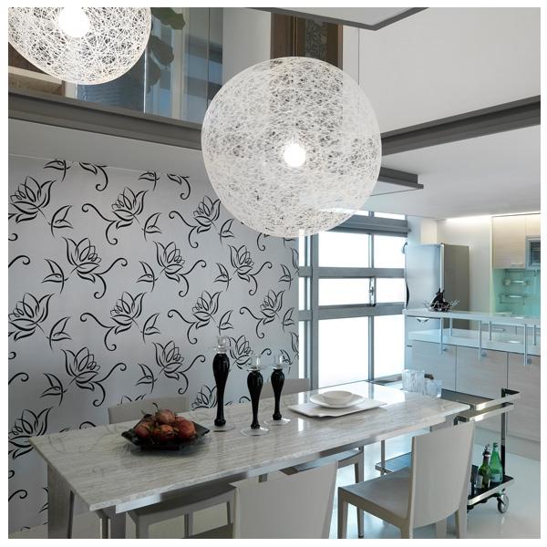 Стильные шелкографические обои прекрасно украсят любую кухню