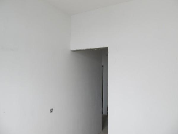 Так выглядят стены после отделки ГВЛ.
