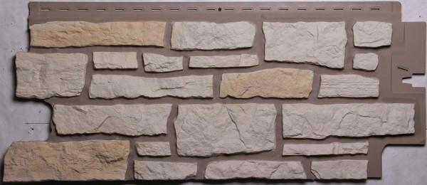Такая фасадная панель очень напоминает натуральную поверхность