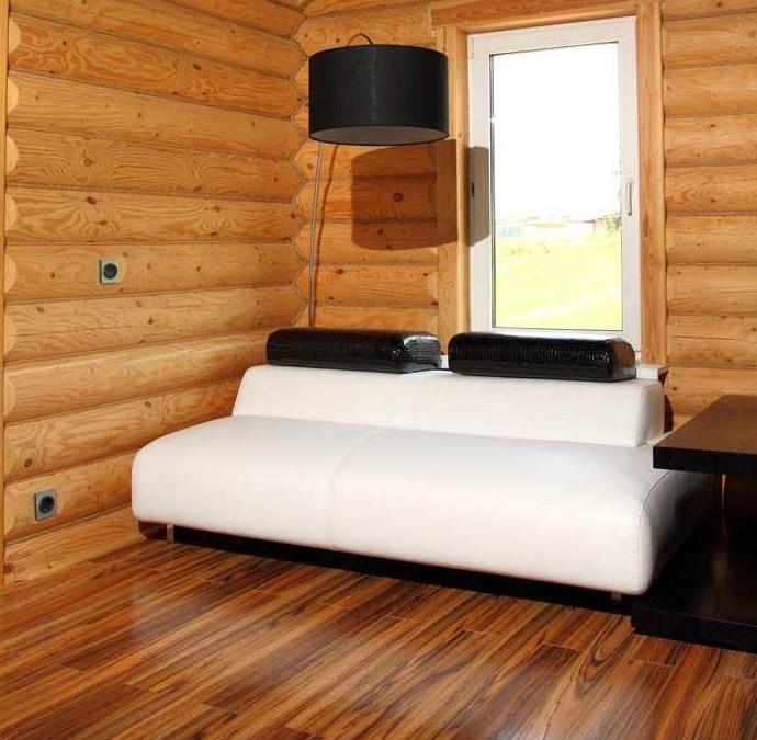Такая отделка старого деревянного дома внутри будет самого высокого качества.