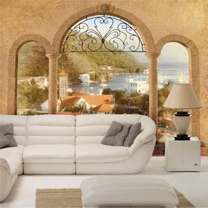 Такой Средиземноморский дизайн своими руками вполне возможен в городской квартире