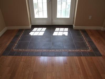 Такой вариант укладки не даст лишней грязи проникнуть в ваш дом