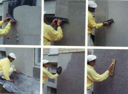 Технология отделки стен.