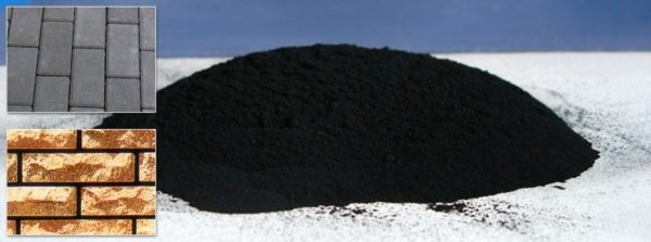 Техуглерод – краситель, используемый для строительных целей