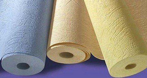Текстурные виниловые обои на флизелиновой основе в разной цветовой гамме