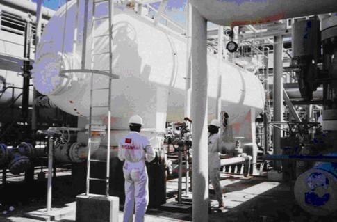 Теплоизоляция газовых хранилищ