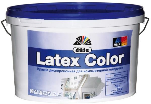 Типичный представитель семейства - интерьерная латексная краска от Dufa.
