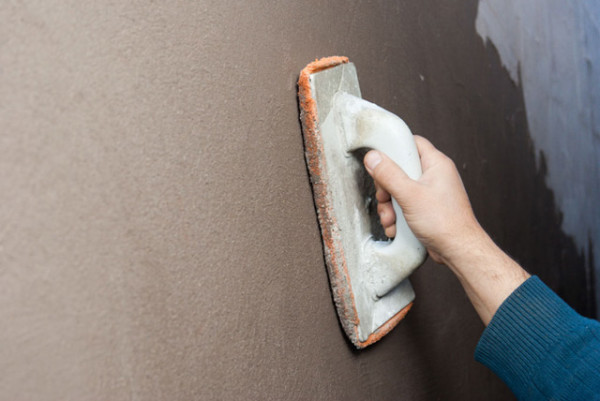 Ткань на терке позволяет сделать поверхность идеально гладкой