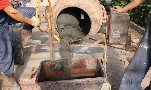Цвет раствора цементного набрызг цементного раствора