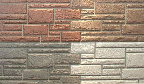 Цементный сайдинг под натуральный камень