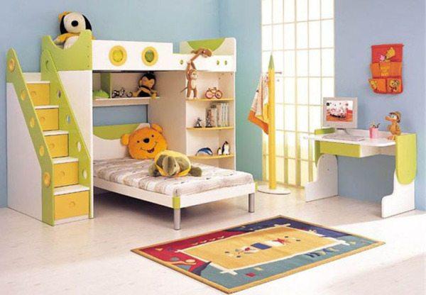 Цвет интерьера детской комнаты для мальчика