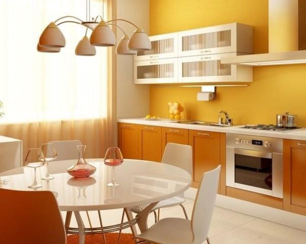 Цветовое решение для «северной» кухни