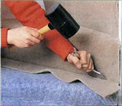 Укладка ковролина с натяжкой