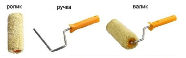 Устройство малярного инструмента.