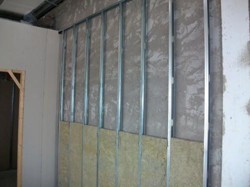 Утепление и отделка внутренних стен из газобетона гипсокартоном
