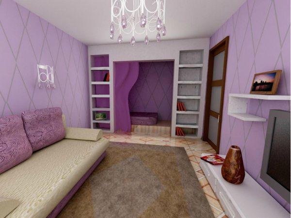 В какой цвет красить стены в квартире – решать только вам.
