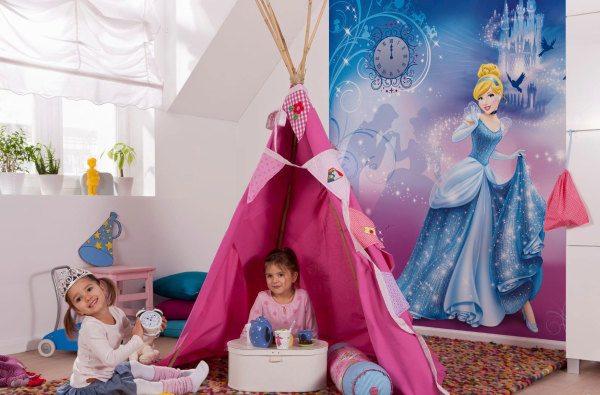 В такой комнате любая девочка почувствует себя принцессой