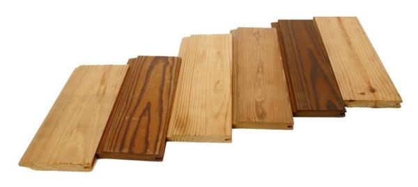 Вагонка из дерева разных пород