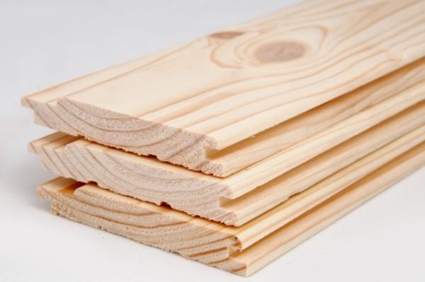Вагонка из древесины хвойных пород