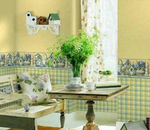 Вариант дизайна кухни с использованием материалов одной цветовой гаммы