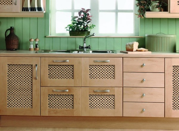 Варианты отделки стен на кухне деревянными панелями