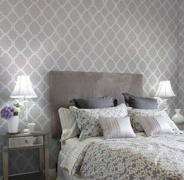 Вариации на тему ромбов и квадратов в спальне