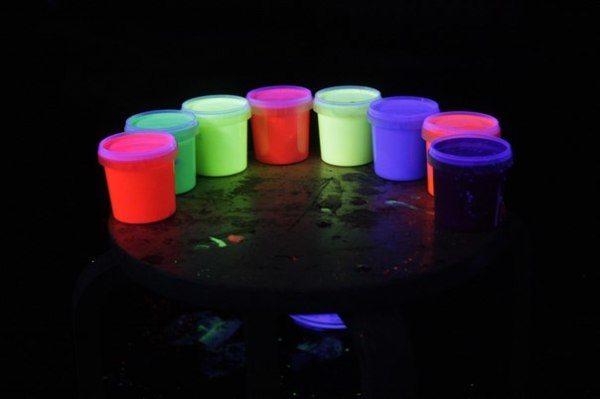 Виды люминесцентных красок