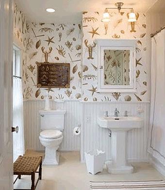 Виниловая отделка стен ванной