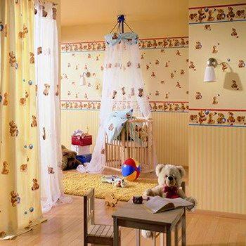 Виниловые полотна в детской комнате
