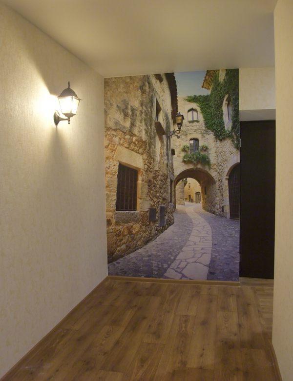 Визуальное увеличение пространства в коридоре