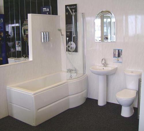 Влагостойкость панелей делает их идеальным вариантом для ванных комнат