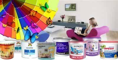 Водно-дисперсионная акриловая краска предлагает широчайшую гамму цветовых решений