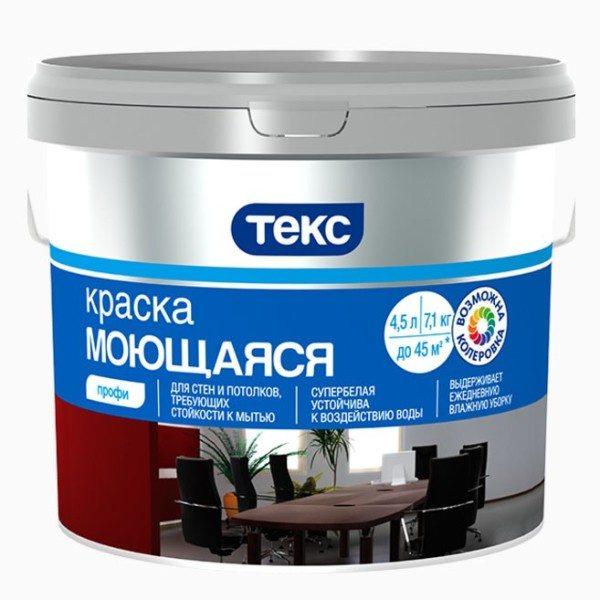 Водно-дисперсионная краска для пластика