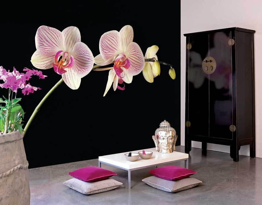 Восточные цветочные мотивы для акцента в помещении