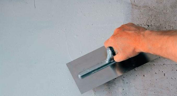 Шпатлевание бетона купить бетон екатеринбург дешево