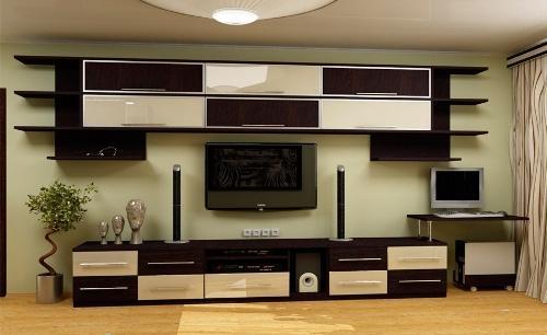 Выгодное сочетание обоев с мебельным фасадом