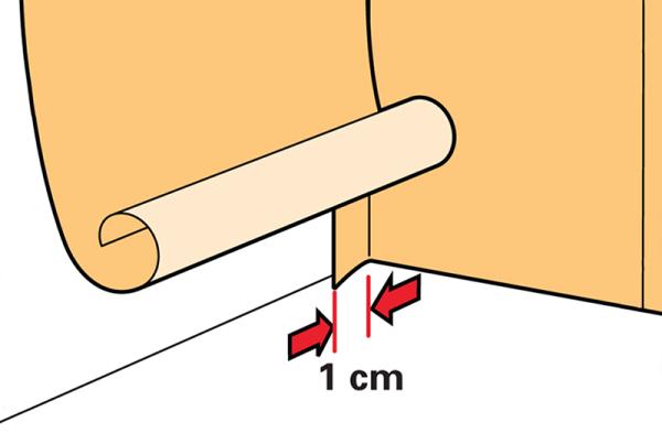 Выправление углов требует определенного расхода материалов, что следует учитывать при создании сметы
