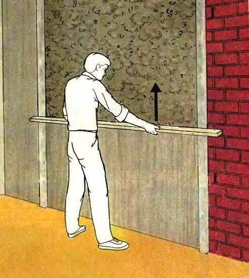 Выравнивание стены по маякам