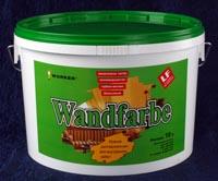 WORKER Wandfarbe – для слабых механических нагрузок при эксплуатации