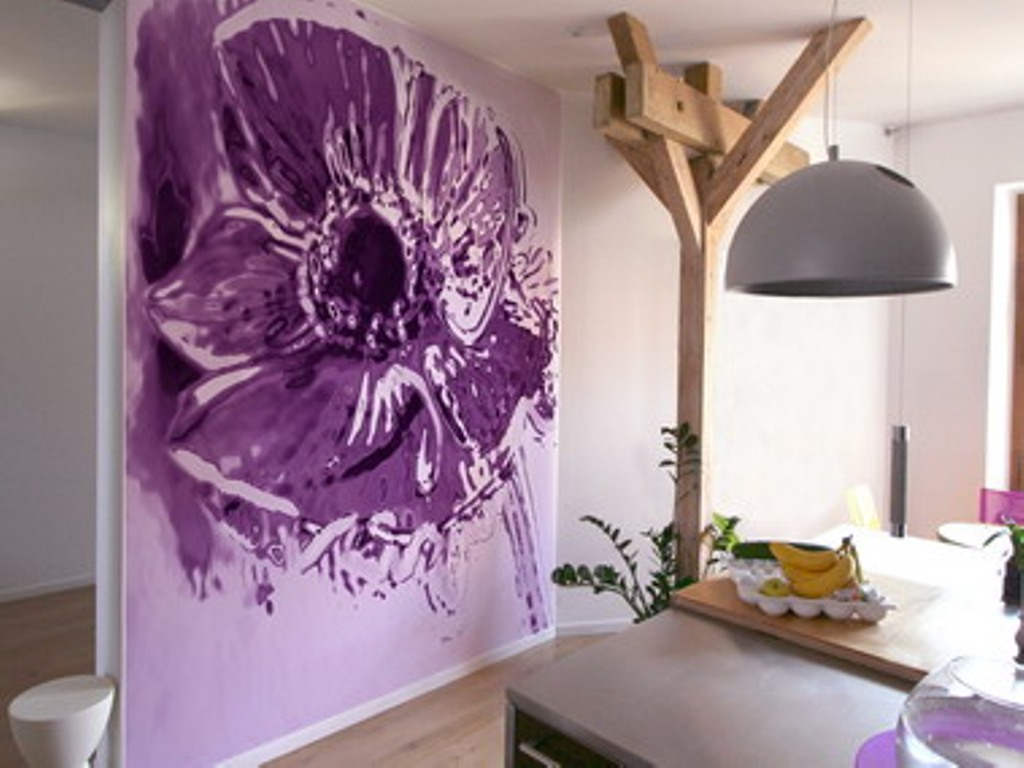 Обои арт: покрытия для стен в стиле поп-арт и фотообои, инструкция по выбору, видео и фото