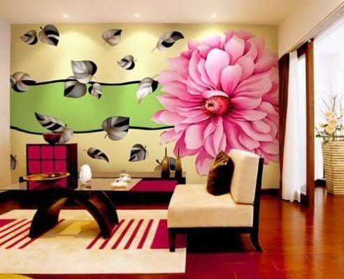 За пару дней с помощью обоев можно преобразить интерьер любой комнаты в квартире