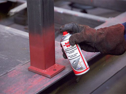 Защитить сталь от окисления можно в том числе и с использованием специализированных оснований под покраску