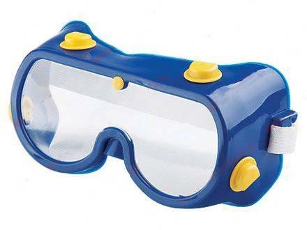 Защитные очки будут весьма полезны
